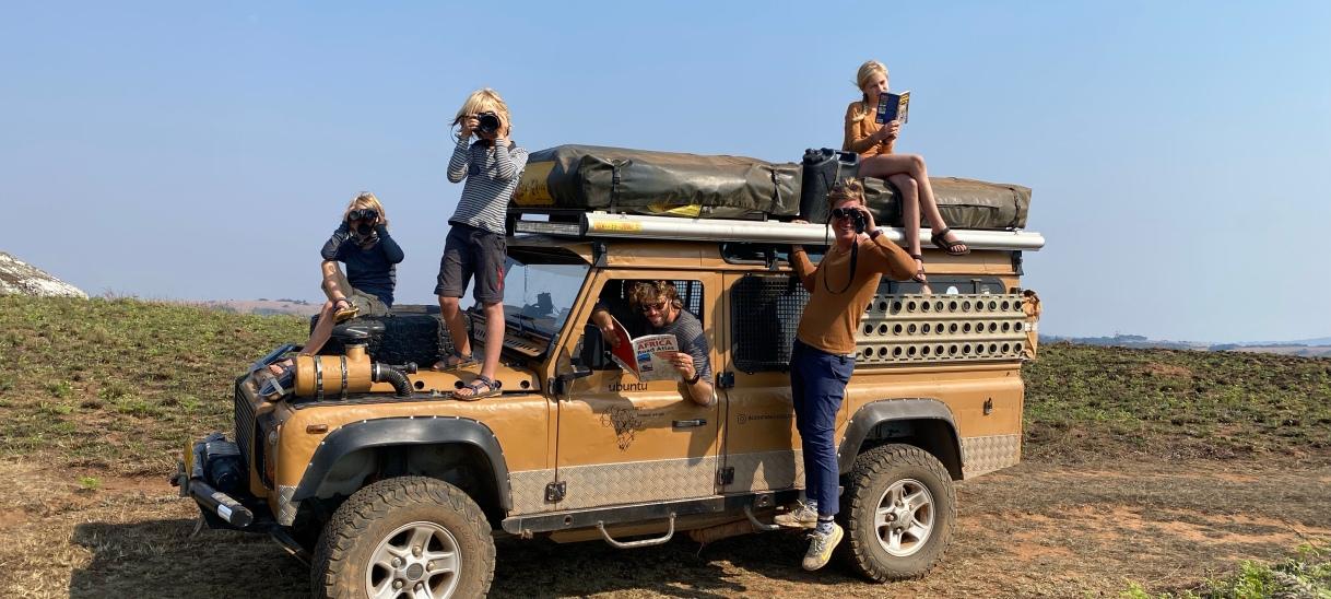 Malawi – Nyika plateau withkids